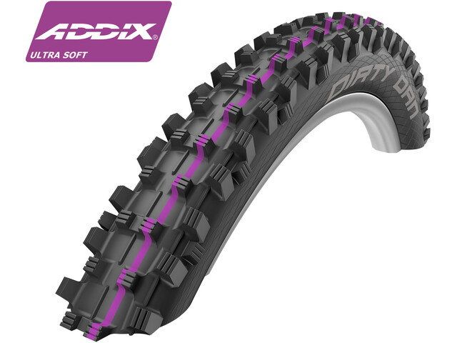 "SCHWALBE Dirty Dan Drahtreifen 27,5"" Addix UltraSoft Downhill"